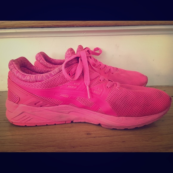 all pink asics